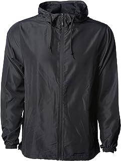 Sponsored Ad - Klothwork Men's Super Lightweight Windbreaker Jacket Water Resistant Zip Hoodie