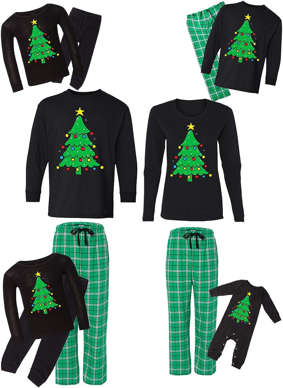 Awkward Styles Max 67% OFF Family Christmas Max 82% OFF Pajamas Tree Holiday Set M Green