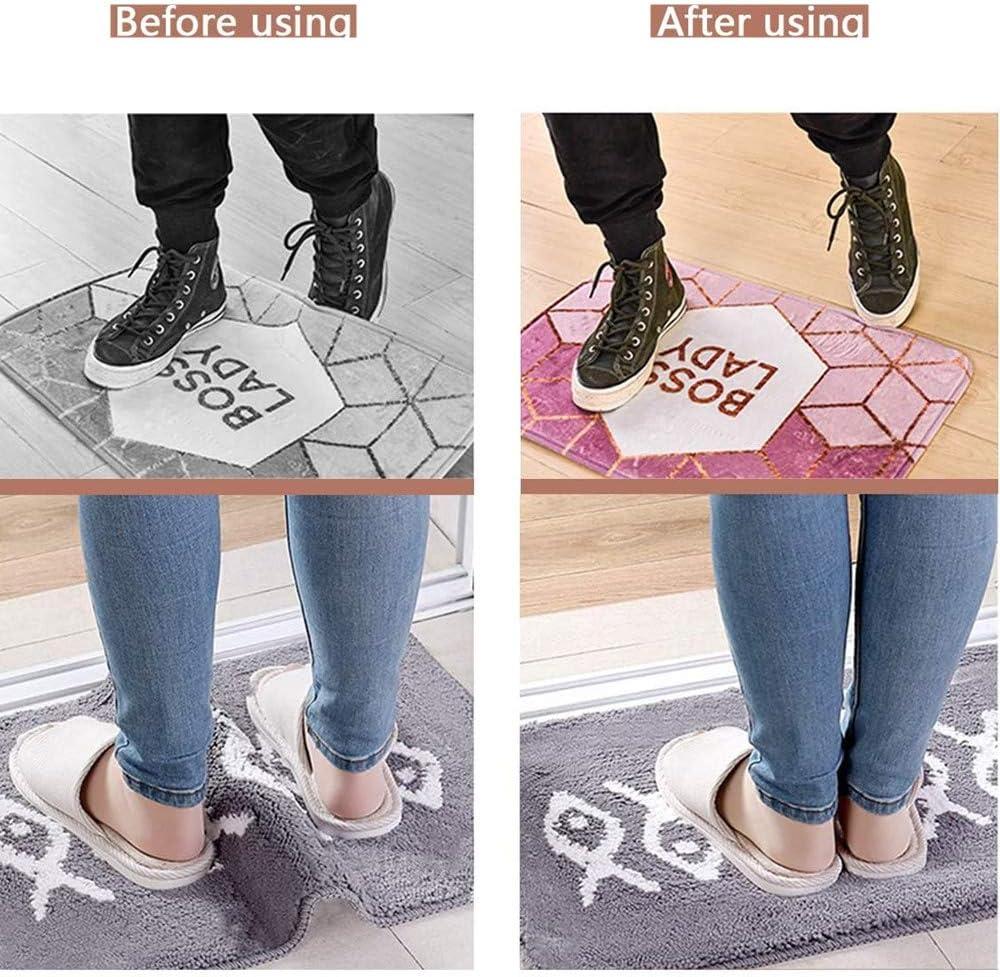 Teppichgreifer Antirutschmatte 24 St/ück Teppich Antirutschunterlage Rug Grippers Rutschfester Teppichunterlage Anti-Curling Rug Gripper Teppichunterlage Doppelseitige Washable Wiederverwendbar