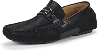 BRUNO MARC NEW YORK Mens Santoni-03 Penny Loafers Moccasins Shoes