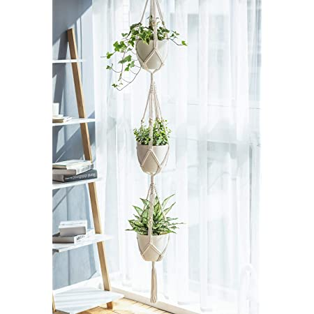 PartyStuff Cotton Hanging Planter - White, Pack Of 1