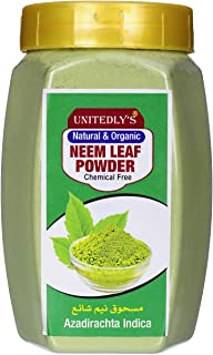 Unitedly's Organic Neem Powder For Hair & Skin Care -200 Grams