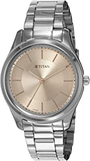 Titan Analog Pink womens Watch 2596SM02