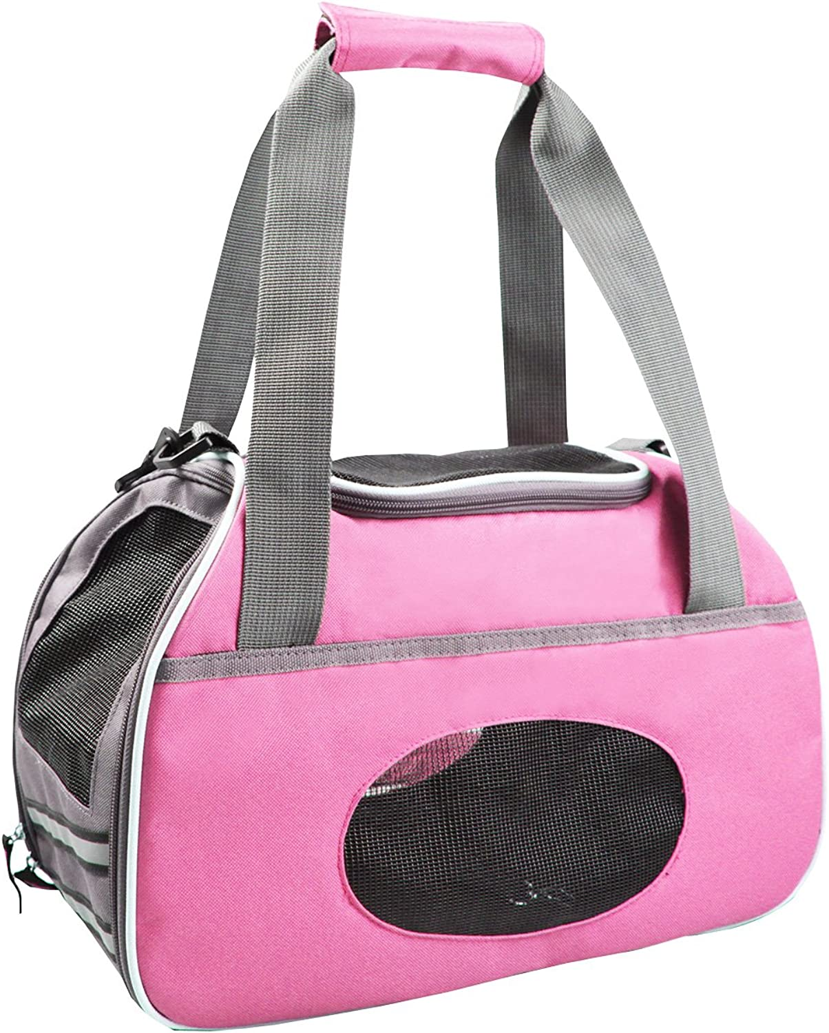 Animal Treasures 31119 Sport Pet Carrier, Pink