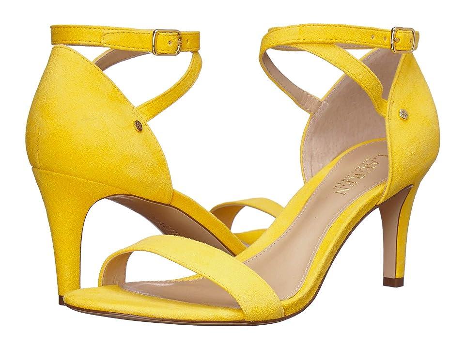 LAUREN Ralph Lauren Glinda (Sunflower Suede) Women