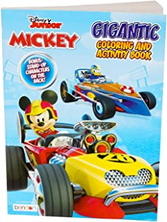 Mickey &The Roadster Racers Coloring & Activity Book Activities, Word Searches, Find a Way to Your Trophy, Puzzle and Much...