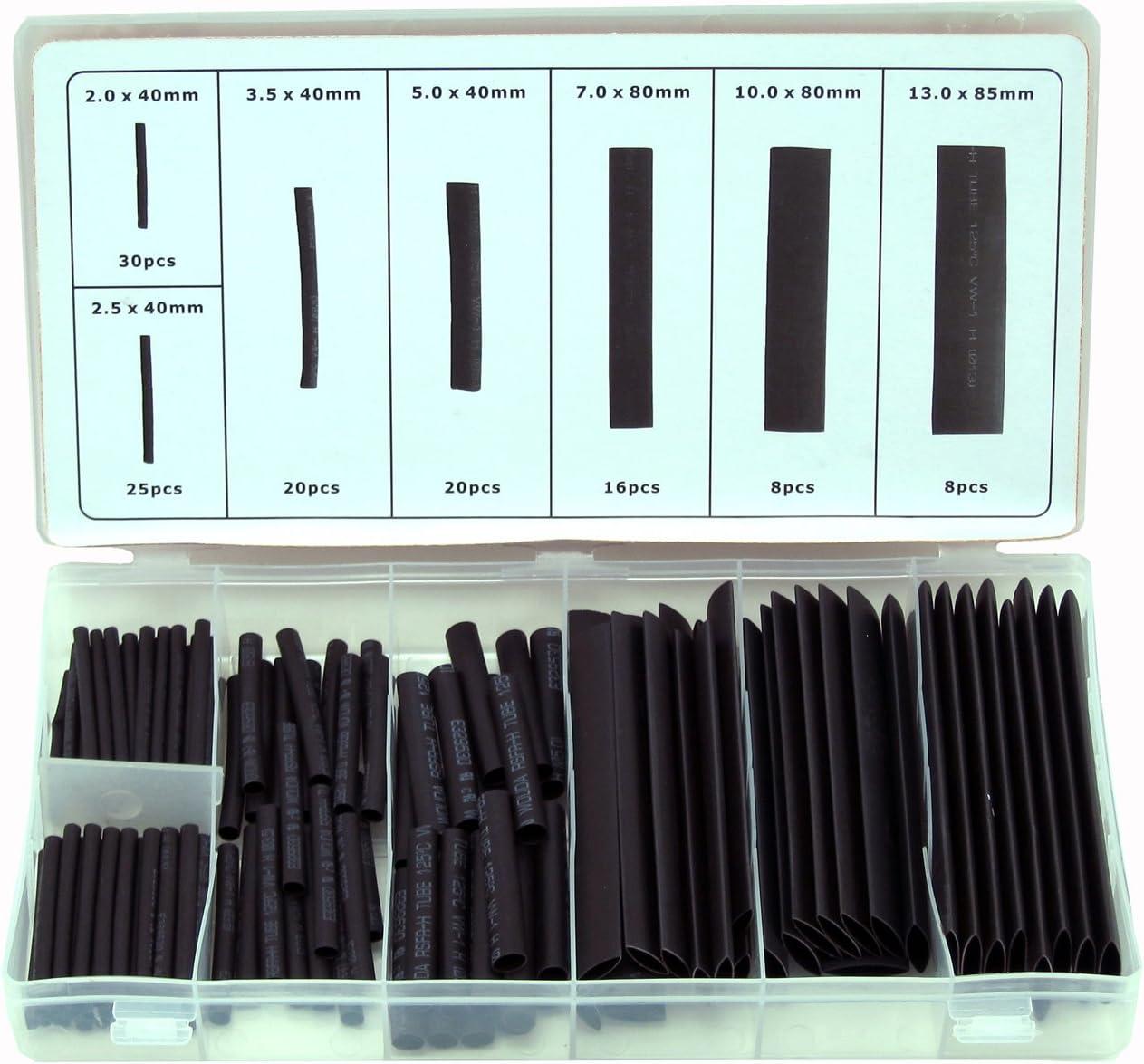 Elitexion 127 Super beauty product restock quality top Pc Max 78% OFF Heat Shrink Wire Tubing Ele Assortment Set Wrap