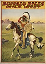 Buffalo Bills Wild West IV by Vintage Apple Collection Art Print, 26 x 35 inches