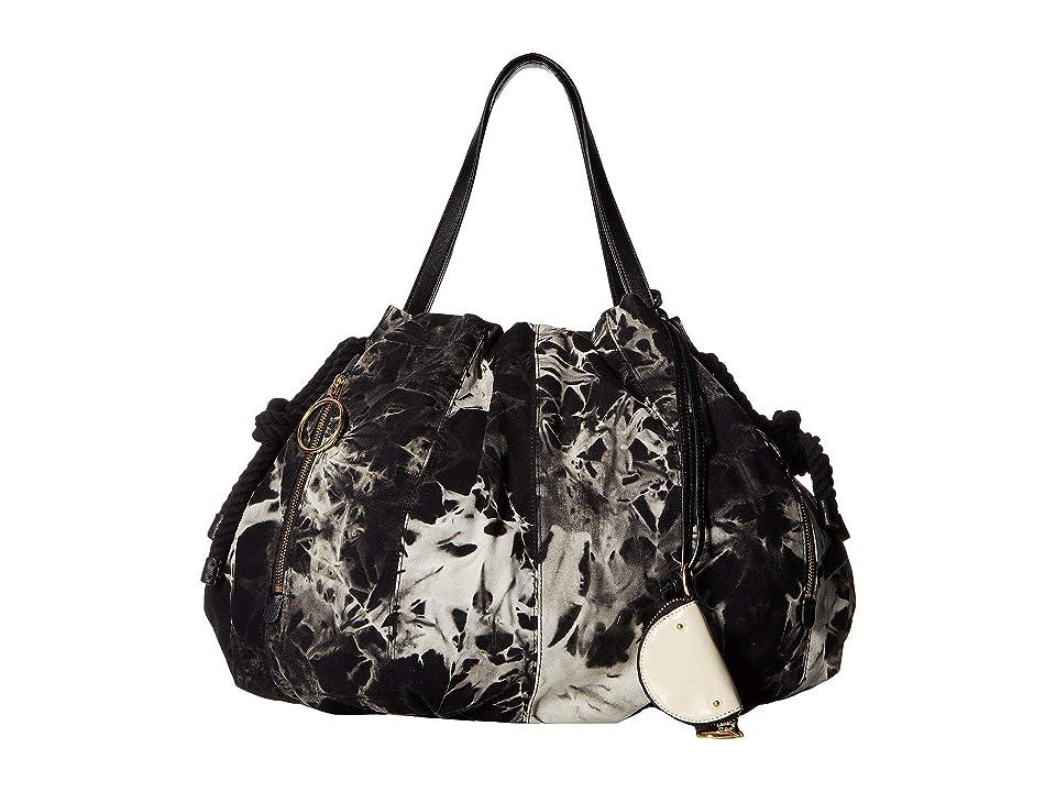 See by Chloe Flo Nylon Tote (Black 2) Tote Handbags