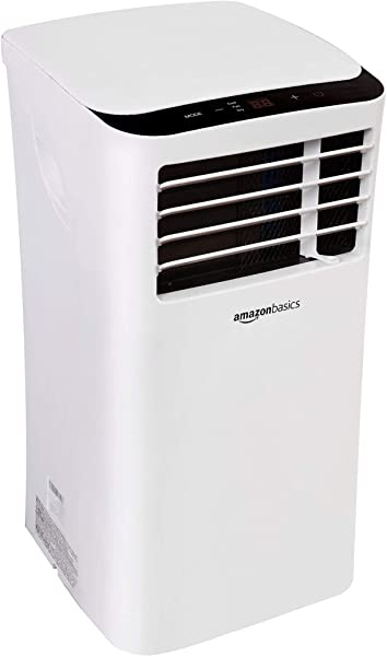 AmazonBasics Portable Air Conditioner With Remote Cools 400 Square Feet 10 000 BTU
