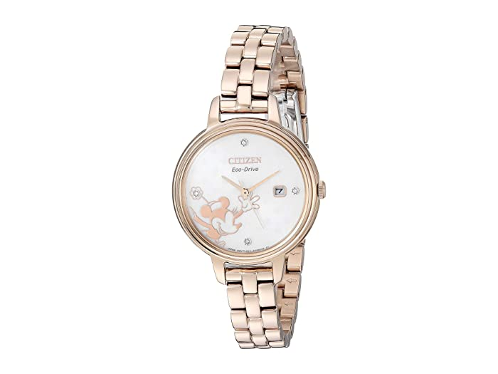 Citizen Watches  Minnie Mouse EW2448-51W (Rose Gold/Tone) Watches