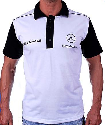 e38f3fba3 OTO-MOTO T-Shirt Silver Star Polo Collier Logo Broderie Embroidery EMBROIDÉ  BRODÉ Blanc