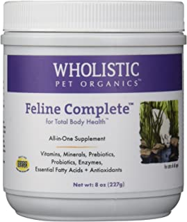 Wholistic Pet Organics Feline Complete Multivitamin