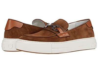 Salvatore Ferragamo Saturday Sneaker (Brown Sugar) Men