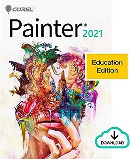 Corel Painter 2021 Education Edition | Digital Painting Software | Illustration, Concept, Photo, and Fine Art [PC Download]