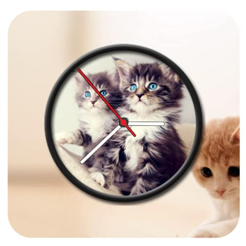 Cat Clock Live Wallpaper
