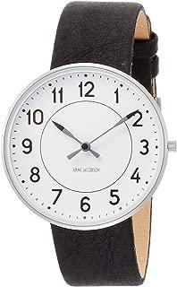 [アルネヤコブセン] 腕時計 53402-2001 正規輸入品 ブラック