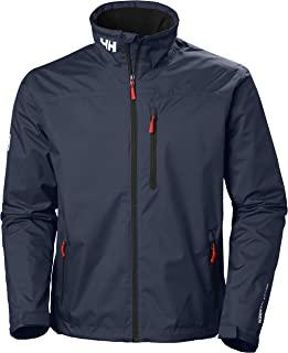 Helly Hansen Men's Crew Midlayer Waterproof Jacket - Waterproof, Windproof and Breathable Fabric, Full-Zip Jacket with Fle...