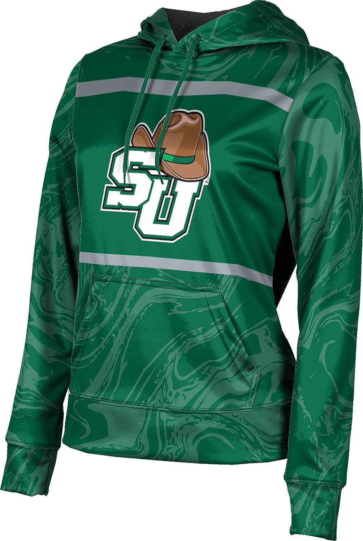 Stetson University Girls' Pullover Hoodie, School Spirit Sweatshirt (Ripple)