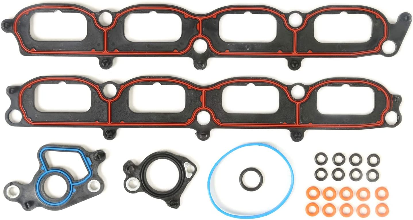 Mplus MS96696 Inventory cleanup selling sale Intake Manifold Gasket Limited time sale Fits for 2004-2012 Set Ford