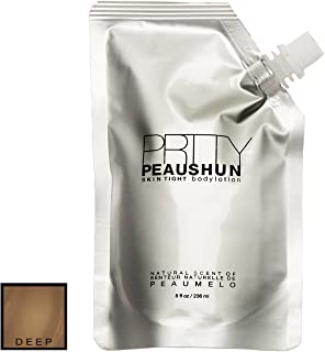 Prtty Peaushun Skin Tight Body Lotion 8 oz - Deep Dark