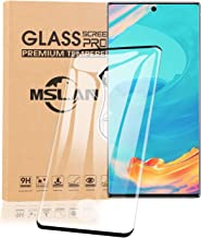 2 Pack MSLAN Galaxy Note 10+ Plus/5G Screen Protector, Glass [ 3D Full Frame ] Premium Tempered 9H Hardness Super Easy Apply for Samsung Galaxy Note 10+ 5G Work with Most case
