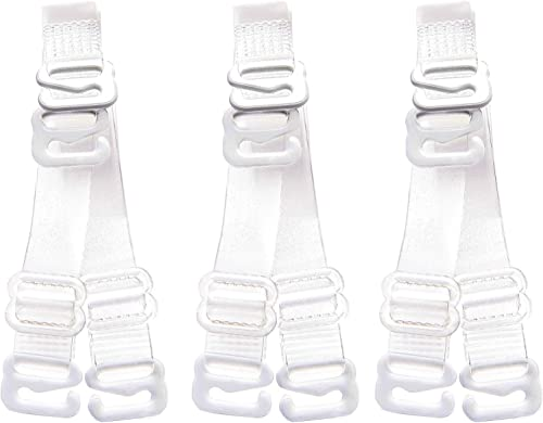 Secrets 18pcs Black /& White BRA STRAP EXTENDERS Hooks to Extend Length Of Strap