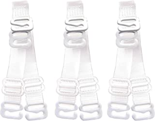 3Pairs Invisible Soft Clear Replacement Bra Shoulder Straps