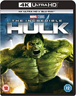 The Incredible Hulk (4K UHD) [Blu-ray] [Region Free]