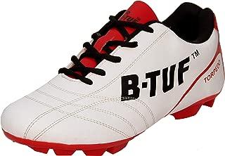 B-TUF Torpedo Football Shoes/Studs/Boot Lightweight for Men Boys Kids Girls