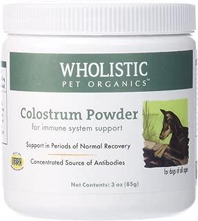 Wholistic Pet Organics Colostrum Supplement