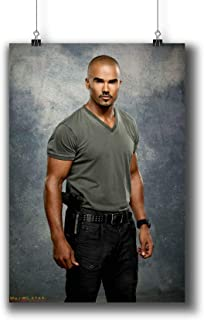 Criminal Minds TV Series Poster Small Prints 271-007 Derek Morgan,Wall Art Decor for Dorm Bedroom Living Room (A4|8x12inch|21x29cm)
