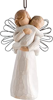 Willow Tree Angel`s Embrace Ornament, Sculpted Hand-Painted Figure