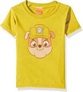 Nickelodeon Toddler Kids Paw Patrol Rubble Big Face Tee