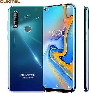 Unlocked Cell Phone, OUKITEL C17 Pro 64GB+4GB Unlocked Phones 13+5MP Triple-Lens Camera Unlocked Smartphone 6.35 inch Blind Hole Display Mobile Phone MT6763 CPU-Twilight