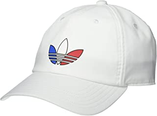 Men's Tri Color Relaxed Fit Strapback Cap