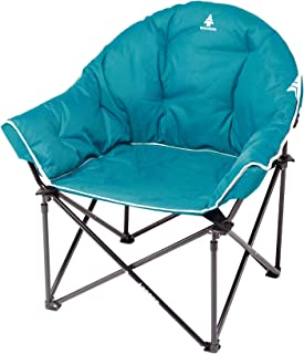 Woods Strathcona Camping Chair | Portable Lightweight Fully Padded Bucket Chair | Carry Bag Included | Teal