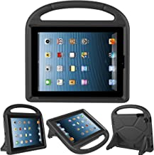 Kids Case for iPad 2 3 4- TIRIN Shock Proof Convertible Handle Light Weight Durable Super Protective Stand Cover for iPad 4, iPad 3 & iPad 2 2nd 3rd 4th Generation Tablet,Black