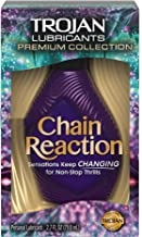 Trojan Chain Reaction Personal Lubricant, 2.7 Fluid Ounce