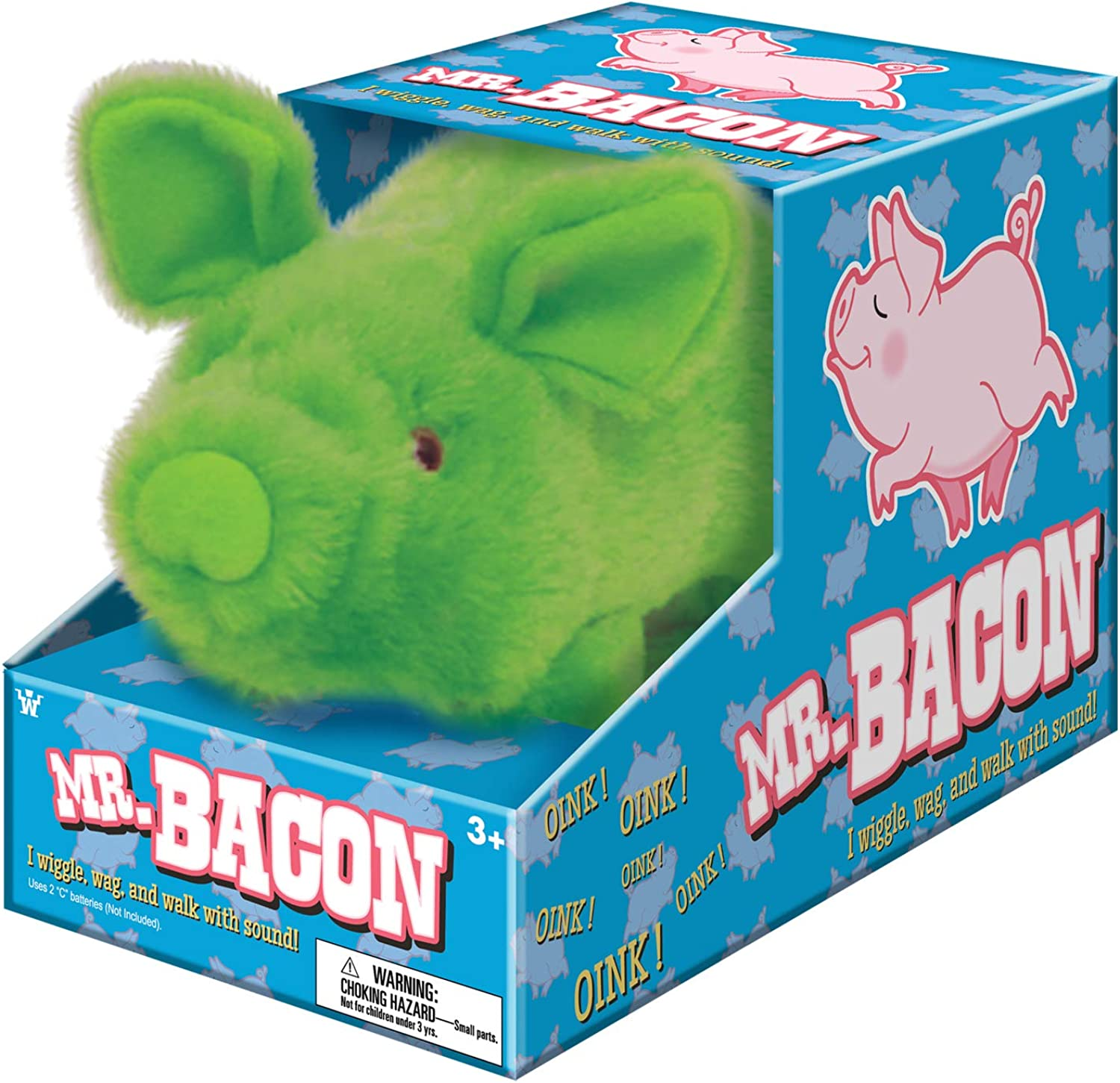 Westminster Toys Mr Bacon Walking Pig w  Sound  PURPLE