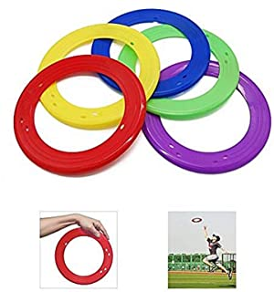 (5 Pack) - Yofit 25cm Flying Ring with Assorted Colours