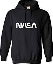 Go All Out Adult NASA Worm Logo Sweatshirt Hoodie