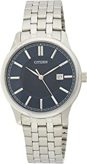 CITIZEN Mens Quartz Watch, Analog Display and Stainless Steel Strap - BI1050-56L