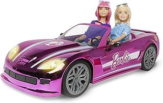 Mondo Motors – Mattel Barbie Dream Car Cabrio Glamour – samochód RC dla dzieci Barbie – dwuosobowy – realistyczne detale –...