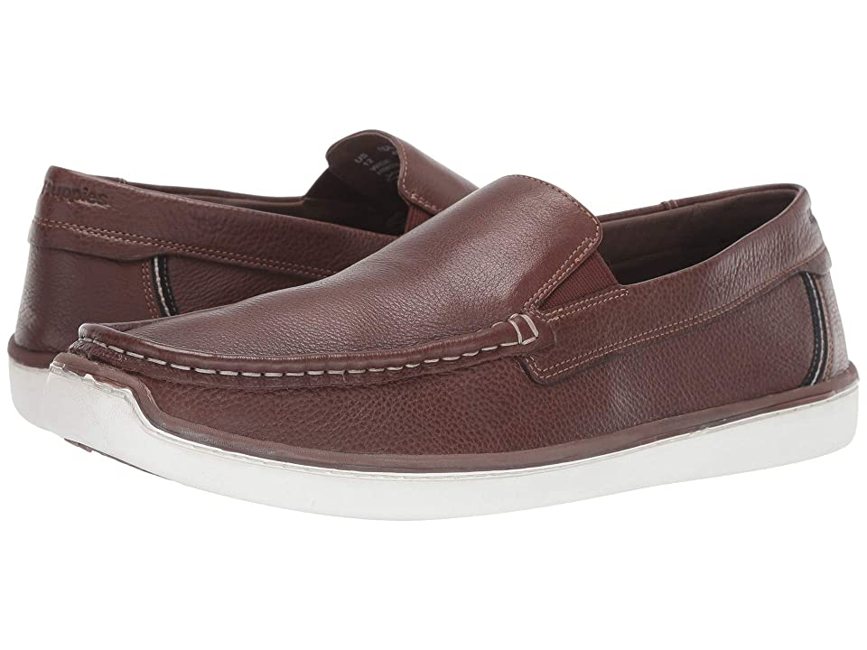 Hush Puppies Toby Venetian (Saddle Brown Leather) Men