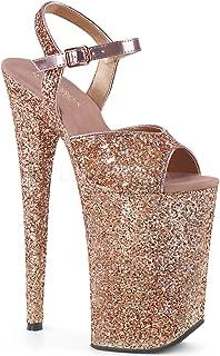Pleaser Women's Infinity-910LG Ankle-Strap Sandal