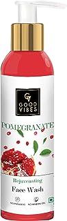 Good Vibes Rejuvenating Face Wash - Pomegranate (120 ml)