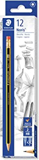 Staedtler ST-122-HBA-53 Noris Pencil With Rubber Tip - 12 Pieces