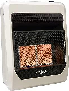 Lost River LR2TIR-LP Liquid Propane Gas Ventless Infrared Radiant Plaque Heater, 20,000 BTU, 18,000 BTU