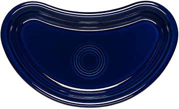 product image for Homer Laughlin Bistro Crescent Plate, Cobalt